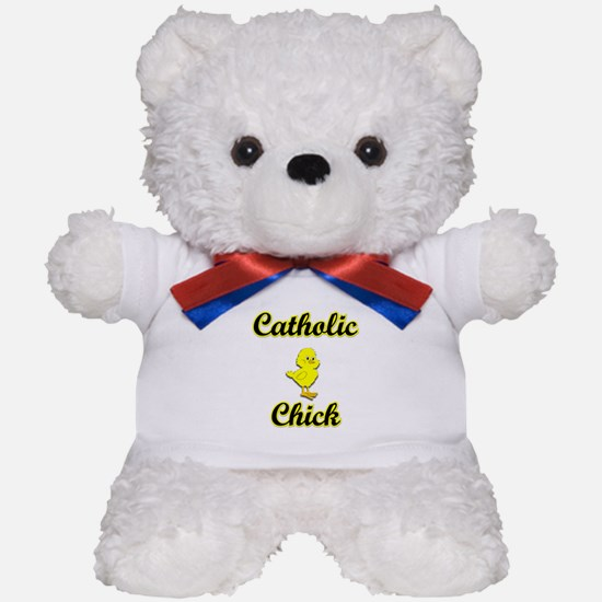 Catholic Chick Teddy Bear