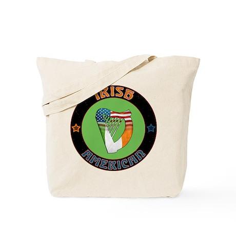 Irish American Harp Tote Bag