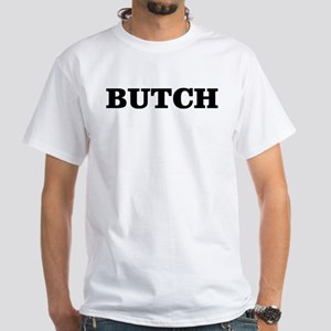 Butch Dom Masc Manly White T-Shirt