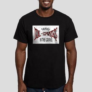 Travel in the Gravel Men's Fitted T-Shirt (dark)