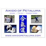 """Aikido of Petaluma Large Poster (23""""x35"""")"""