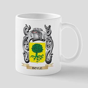 Boyle Family Crest - Boyle Coat of Arms Mugs