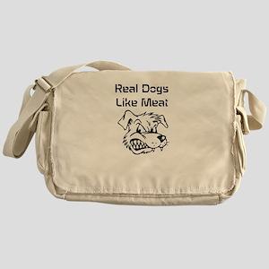 Real dogs Messenger Bag