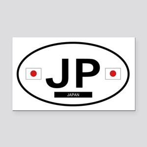 JAPAN Rectangle Car Magnet