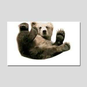 Brown Bottom Bear Cub Playful Fuzzy Wuzzy Car Magn