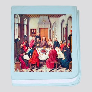 Dieric Bouts Last Supper (Detail) baby blanket