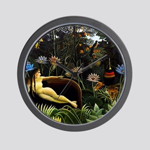 Henri Rousseau The Dream Wall Clock