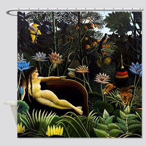 Henri Rousseau The Dream Shower Curtain