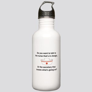 Nurse-Secretary Stainless Water Bottle 1.0L