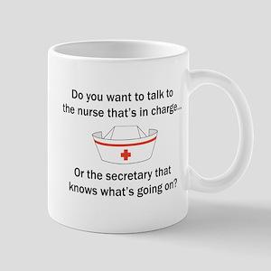 Nurse-Secretary Mug
