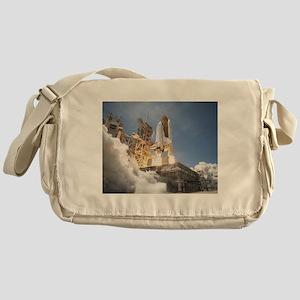 Atlantis Launch STS 132 Messenger Bag
