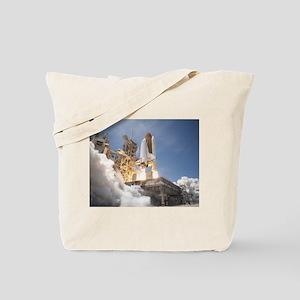 Atlantis Launch STS 132 Tote Bag