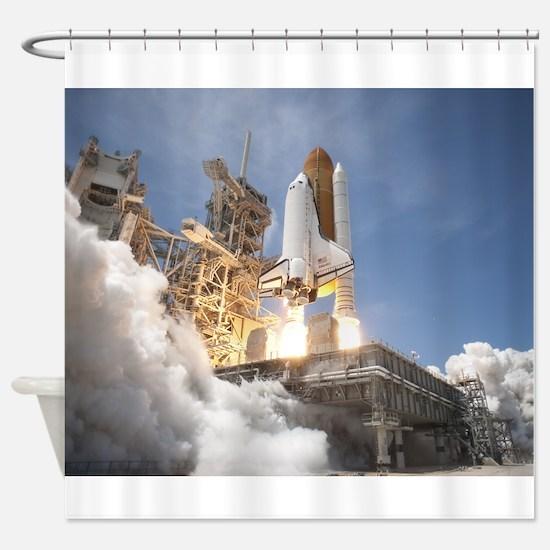 Atlantis Launch STS 132 Shower Curtain