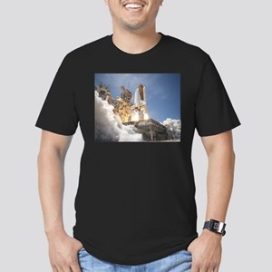 Atlantis Launch STS 132 Men's Fitted T-Shirt (dark
