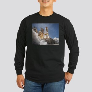 Atlantis Launch STS 132 Long Sleeve Dark T-Shirt