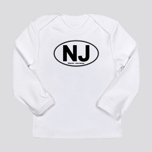 New Jersey European-style Oval Long Sleeve T-Shirt