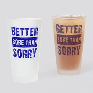 Cool Fitness Designs Drinking Glass