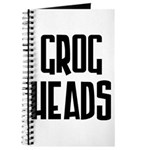GrogHeads Text Logo Journal
