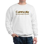 Caffeine On Staff Sweatshirt