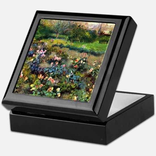 Renoir Rose Grove Keepsake Box