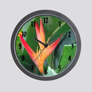 Bird of Paradise - Wall Clock