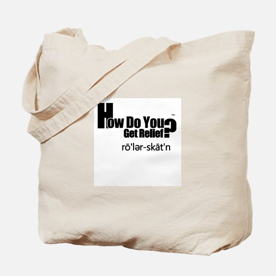 Relief Tote Bag