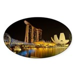 Singapore Sticker (Oval 10 pk)