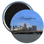 "Singapore 2.25"" Magnet (100 pack)"