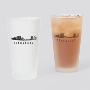 Singapore Drinking Glass