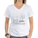 Reifu Women's V-Neck T-Shirt