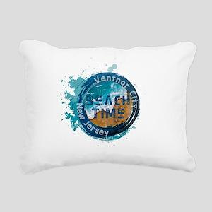 New Jersey - Ventnor Cit Rectangular Canvas Pillow