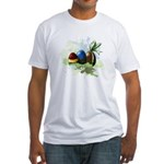 Chocolat eggs Fitted T-Shirt