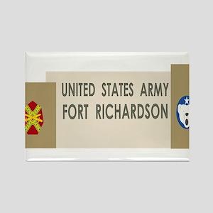 Fort Richardson Rectangle Magnet