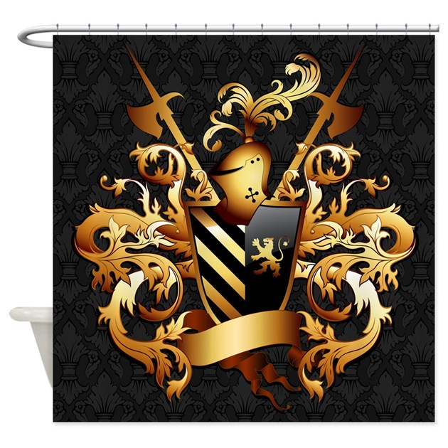 Medieval Coat Of Arms Shower Curtain By ShowerCurtainShop