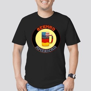German American Beer Stein Men's Fitted T-Shirt (d