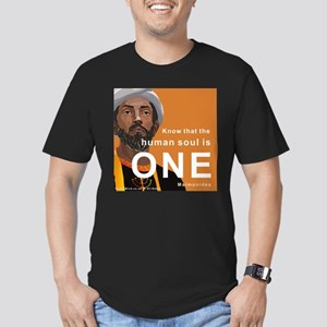 Maimonides - Soul is One, Men's Fitted T-Shirt (da
