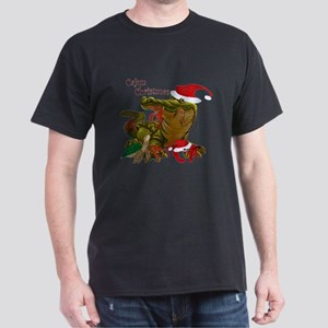 Cajun Christmas Apparel Dark T-Shirt