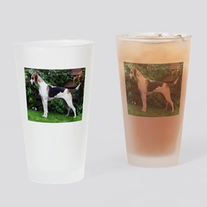 I Heart Foxhounds Drinking Glass