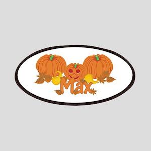 Halloween Pumpkin Max Patches