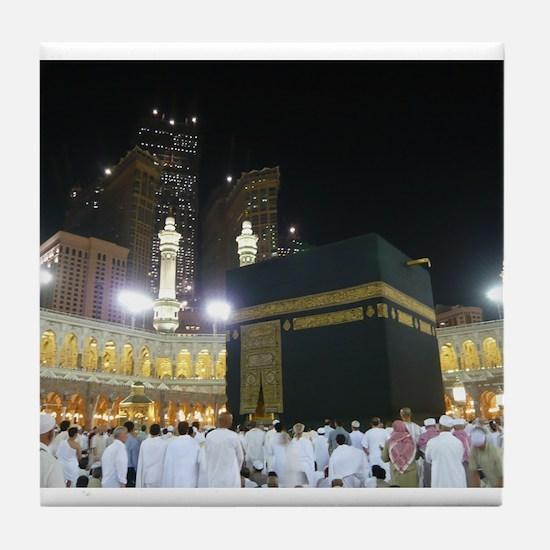 Kaaba Sharif Tile Coaster