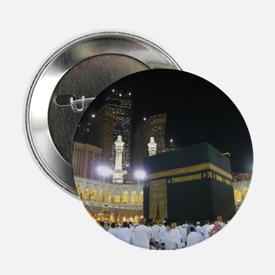 """Kaaba Sharif 2.25"""" Button"""
