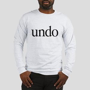 Undo Long Sleeve T-Shirt