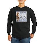 Santa Anna Tile Long Sleeve Dark T-Shirt