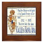 Santa Anna Tile Framed Tile