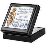 Santa Anna Tile Keepsake Box