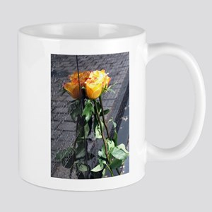Vietnam Veterans Memorial Wall Rose Mug