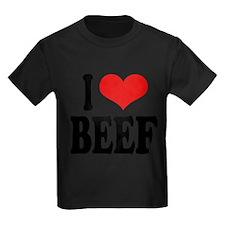 ilovebeefblk Kids Dark T-Shirt