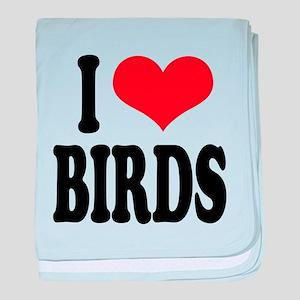 ilovebirdsblk baby blanket