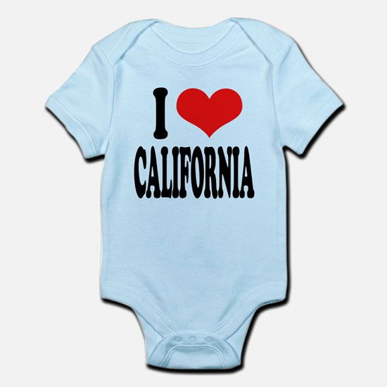 ilovecaliforniablk.png Infant Bodysuit