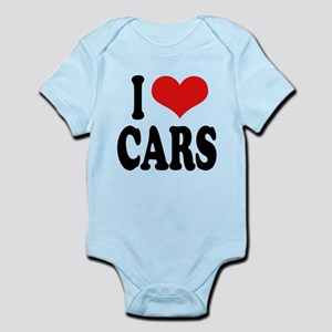 ilovecarsblk Infant Bodysuit